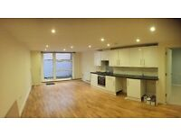 2 Bed modern flat with outside space and off street parking