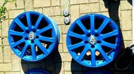 """VW GOLF rims 17"""" inches brand NEW"""
