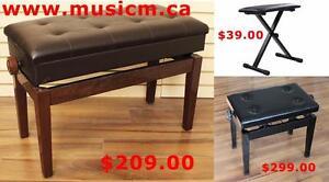 Piano Bench Sale www.musicm.ca