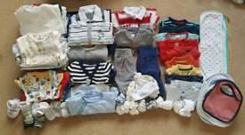 Newborn boys bundle