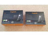 SIEMENS Gigaset E495 & E49H twin cordless DECT phones