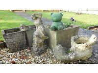 Selection of Garden Concrete Ornaments
