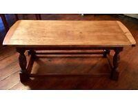 Vintage Oak Old Charm Coffee Table