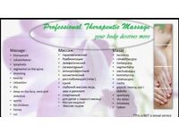 Professional Therapeutic Massage