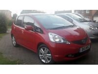 2011 HONDA JAZZ 1.4 i VTEC EX Panoramic roof and 3 months transferable warranty - NIPPY RED & COOL
