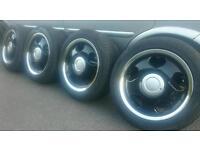 "16"" Tansy love heart alloy wheels 4x100 Civic ej ek ep Corsa Astra Golf Polo Bmw mini NOT BBS Rota"