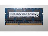 Hynix 8 GB DDR3 1600 MHz SO DIMM laptop memory