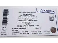 EN VOGUE TICKET (X1) -Standing. Birmingham O2 Institute REASONABLE OFFERS CONSIDERED
