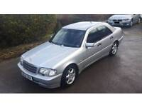 Mercedes C240 Sport Auto W202 124k Towbar Hpi Clear Silver saloon Drives nice Moted Hpi Clear RARE