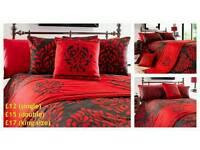 Red Duvet Set