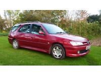 Peugeot 306 Estate 2.0 HDI, 7 Seater conversion, used daily, fast & responsive, one owner from new.