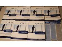 2018 CFA Level 3 Schweser Notes & Premium Materials. All books available!