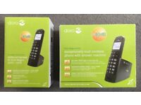 Dora Magna 2005 Exceptionally Loud Digital Phone with Answer Machine + Additional Handset