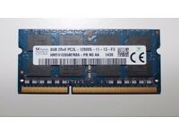 Hynix 8 GB DDR3 1600 MHz SO DIMM laptop memory