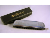 Collectable Hohner Harmonica Chrometta 14 Nr.257 in Case VGC (WH_1923)