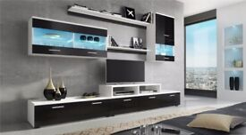 Wall Unit in black and white