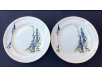 2 Genuine Tams Ware Vintage Plates ??Fairyland?? Collectable