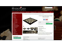 Luxury Chess Board (hand painted pieces also availble)