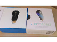 Google Chromecast H2G2 HD WiFi Digital HDMI Media Streaming Device Netflix Youtube