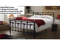 Brand New**OXFORD BED FRAME**with choice of mattress**Available in 4 sizes**