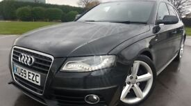 AUDI A4 SLINE FULLY LOADED FULL SERVICE HISTORY 11 MONTH MOT 1 OWNER