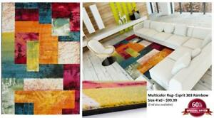 WAREHOUSE SALE: RUGS, CARPETS, CUSHIONS, THROWS & POUFS - UPTO 60% OFF !!