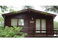 Luxury 2 bedroom Chalet ( £37,000 ) ono chalet needs to come off of site (buyers' responsibility).