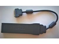 Toshiba LAN Port Replicator Docking Station; Model PA3040U-1PRP; 40cm Data Cable