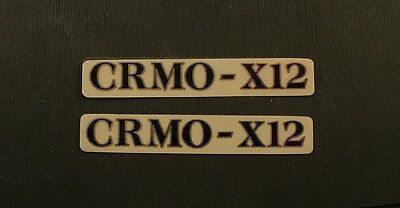 KABUKI Bicycles Cromo-X12 Stickers New original for sale  Portland