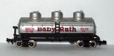N Scale - Baby Ruth – 3 Dome Tank Car - #701 -  N Gauge, used for sale  Cape Coral