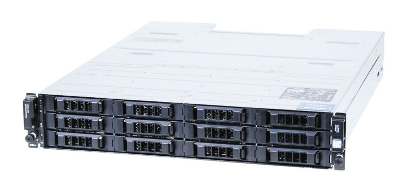 "Dell PowerVault MD1200 Disk Enclosure Shelf 0.2oz SAS - 12x 3.5 "" LFF Inserts"