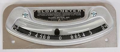 Slope Meter No. 1 Widely Used On Motor Graders Bulldozers And Similar