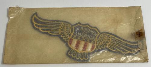 1930s JR. BIRDMEN OF AMERICA PATCH EMBLEM PATCH SEALED IN ENVELOPE