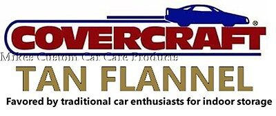 - Covercraft TAN FLANNEL indoor CAR COVER Custom Made to fit 1957 Ford Thunderbird
