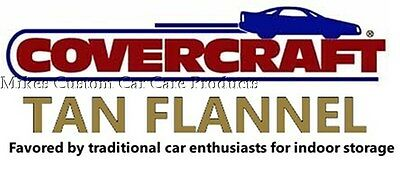 - Covercraft TAN FLANNEL indoor CAR COVER Custom Made 1967-1968 Chevrolet Camaro