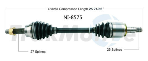 SurTrack CH-8220 Axle Shaft