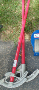 2 manual pipe bender for sale 1/2 &  3/4; new condition