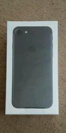 Iphone 7 128gb Matte Black UNOPENED - EE