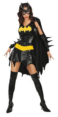 Batgirl Kostüm Minikleid Original für Damen ()