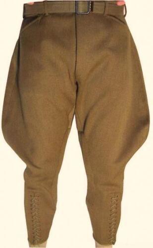 Mens Khaki Jodhpuri Breeches Equestrian Baggy Pants Horse Riding Sports Breeches