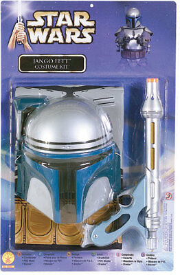 Star Wars Jango Fett Kostüm mit Blaster Maske 8-10Jahre