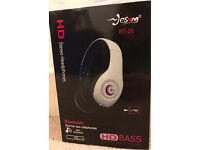 Brand new Bluetooth stereo headphones