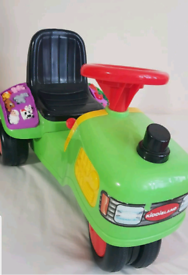 Kiddieland Tractor Ride-on, light and sound. Bought from John Lewis