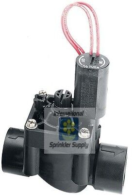 "Hunter PGV-101G 1"" Female Thread 24V Solenoid Valve, NPT, With Flow Control"