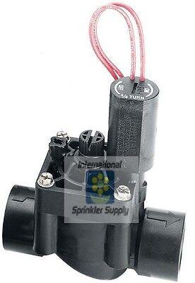 "Hunter PGV-101G 1"" Female Thread 24V Solenoid Valve, NPT, With Flow Control"