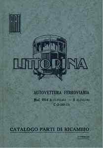 FERROVIE FIAT BREDA Alb48 Automotrice Littorina 1936 2a Ed Nomenclatore - DVD - Italia - L'oggetto può essere restituito - Italia