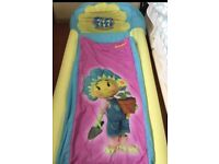 Girl toddler ready bed air bed fifi design with carry case & pump
