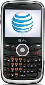 NEW-PANTECH-P7040-LINK-AT-T-3G-TEXT-MP3-GSM-QWERTY-KEYPAD-GRAY-CELL-PHONE