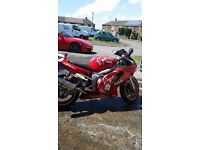 Yamaha R6 Motorbike For Sale - Good Condition Low Mileage