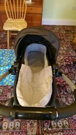 Charcoal Graco Travel System